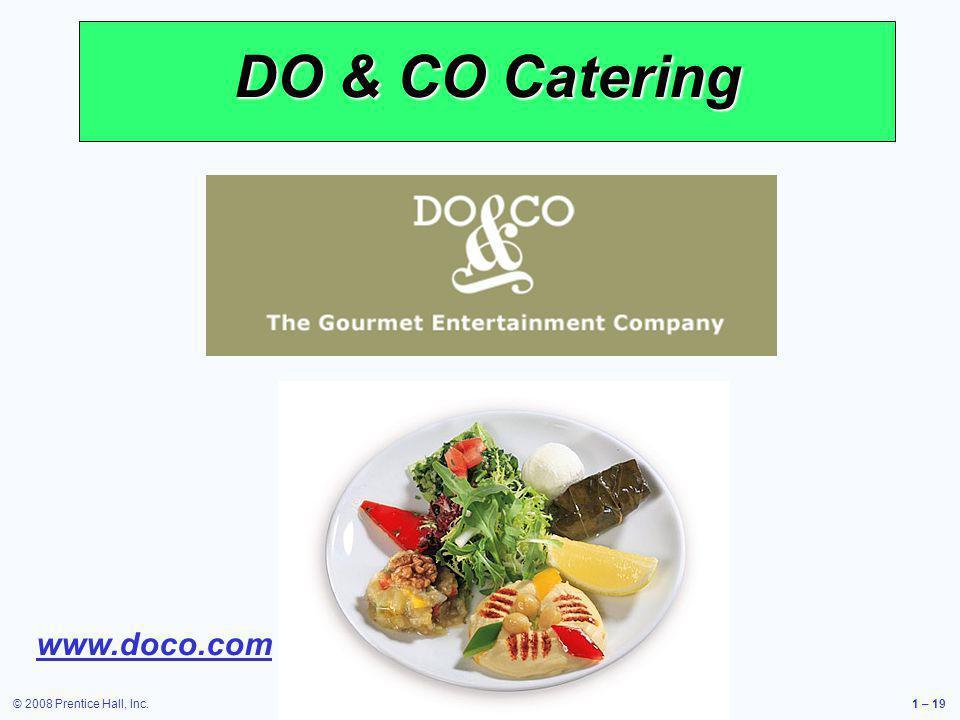 DO & CO Catering www.doco.com