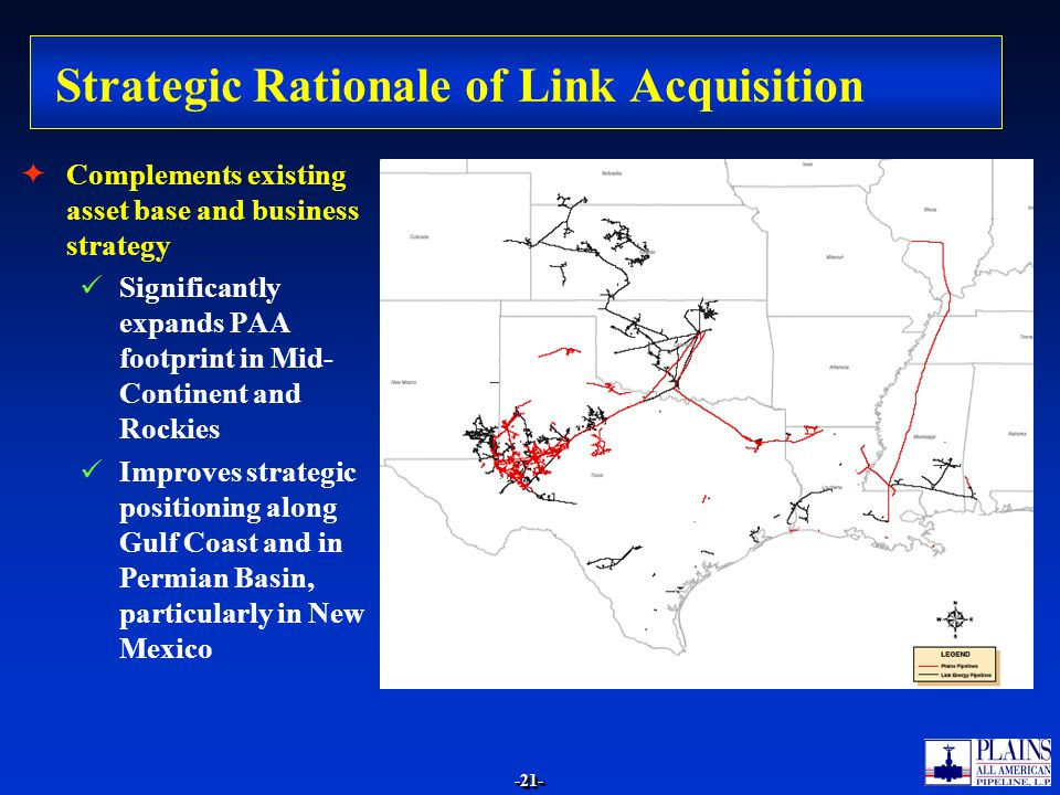 Strategic Rationale of Link Acquisition