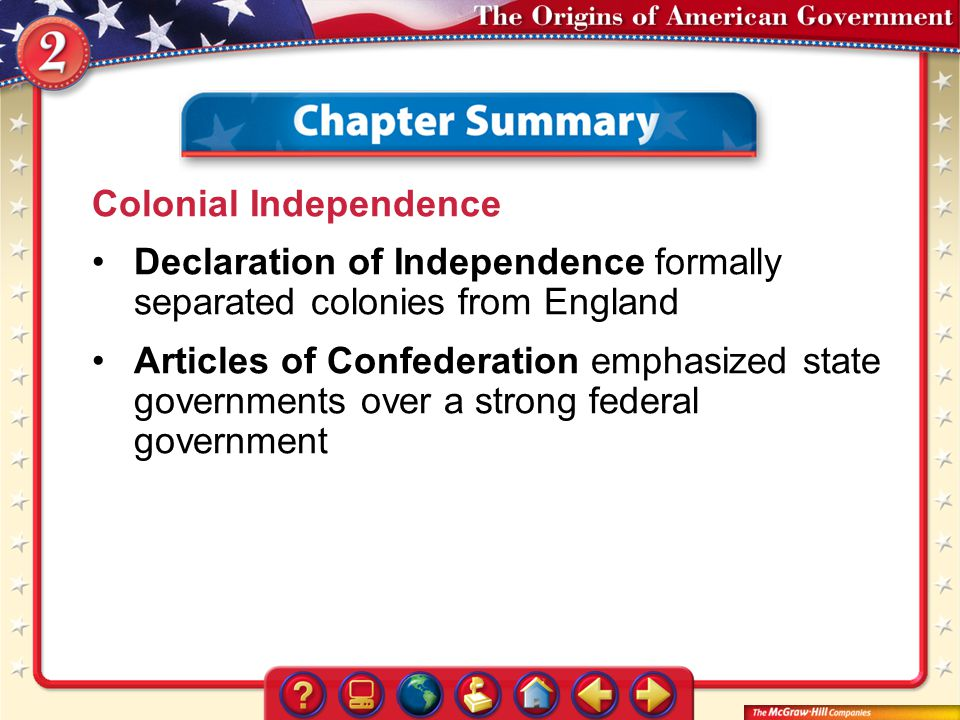 Colonial Independence