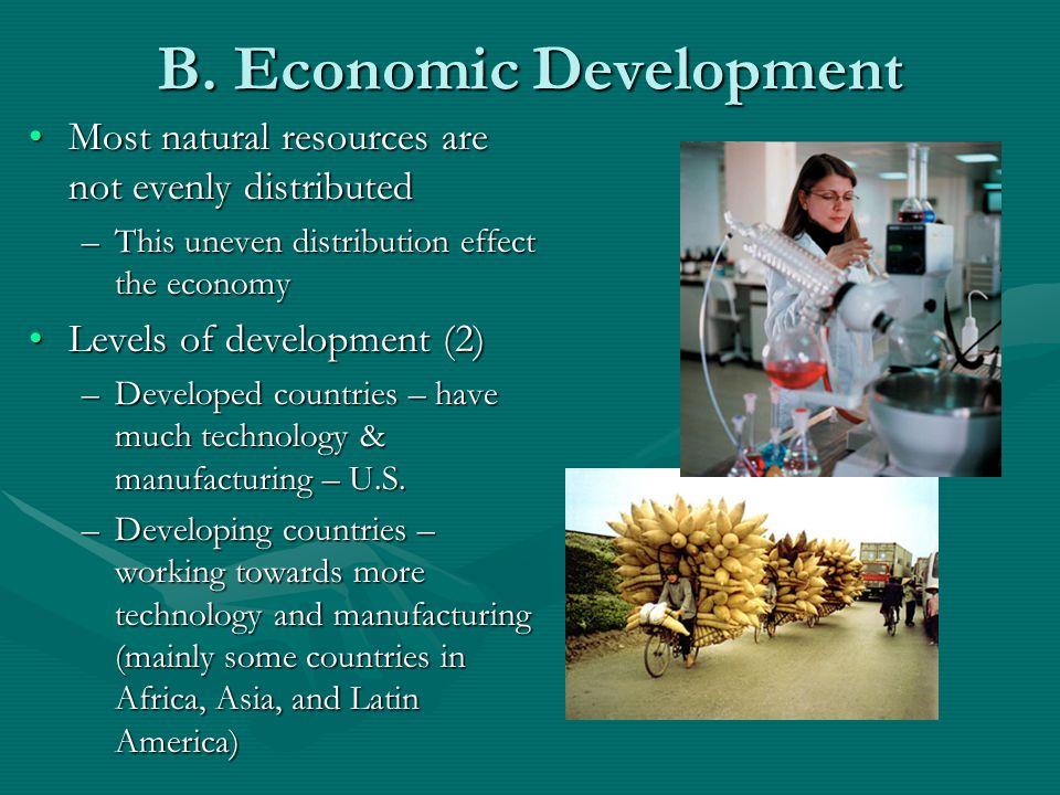 B. Economic Development
