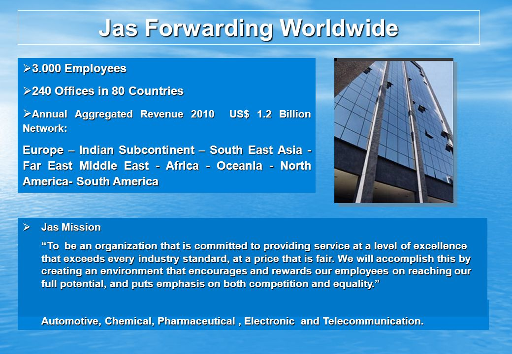Jas Forwarding Worldwide