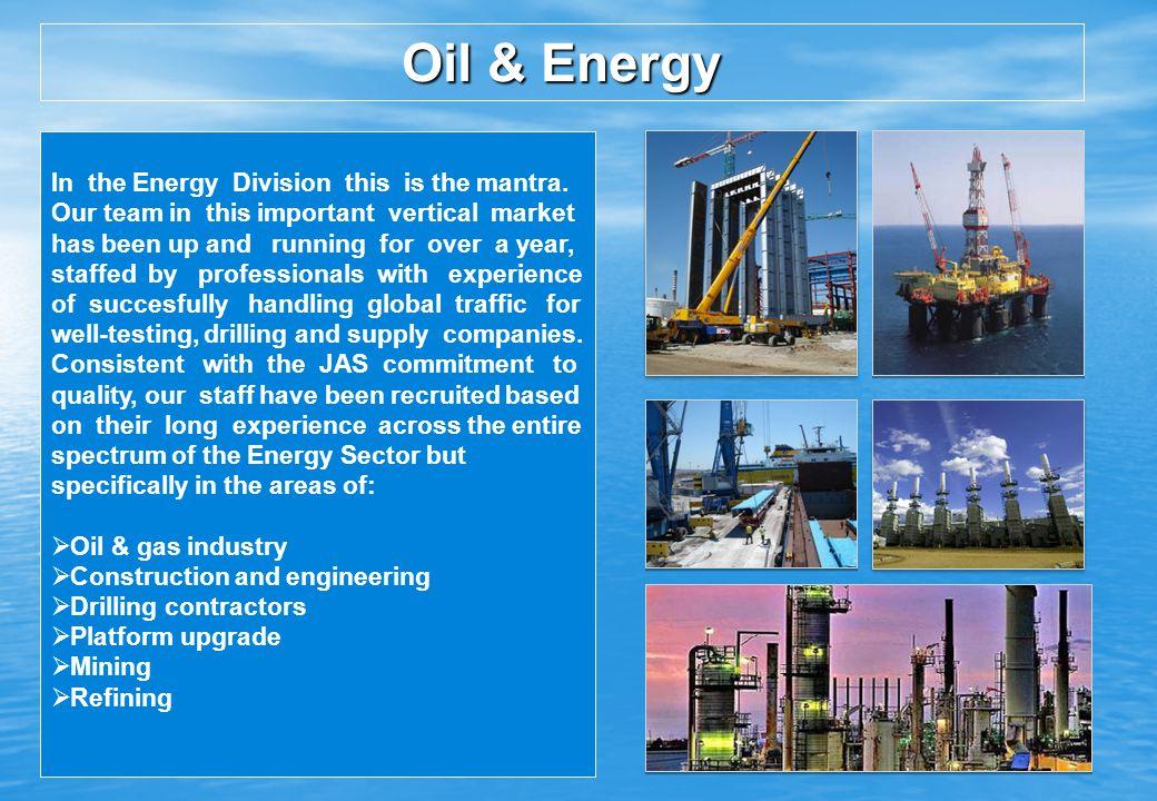 Oil & Energy