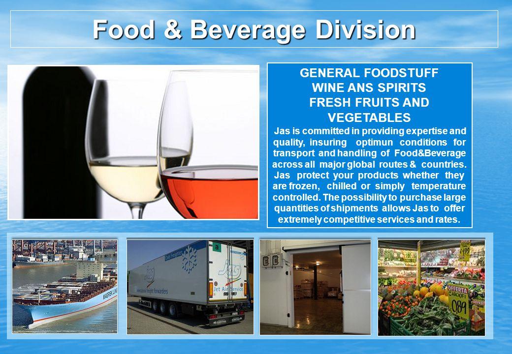 Food & Beverage Division