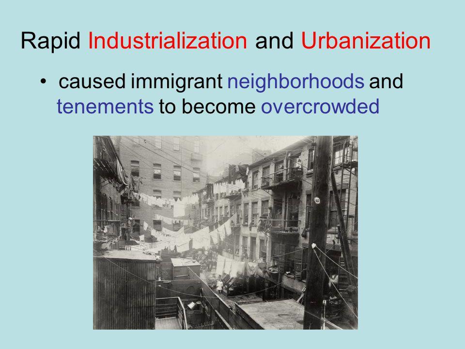 Rapid Industrialization and Urbanization