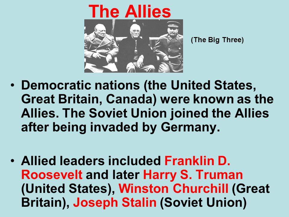 The Allies (The Big Three)