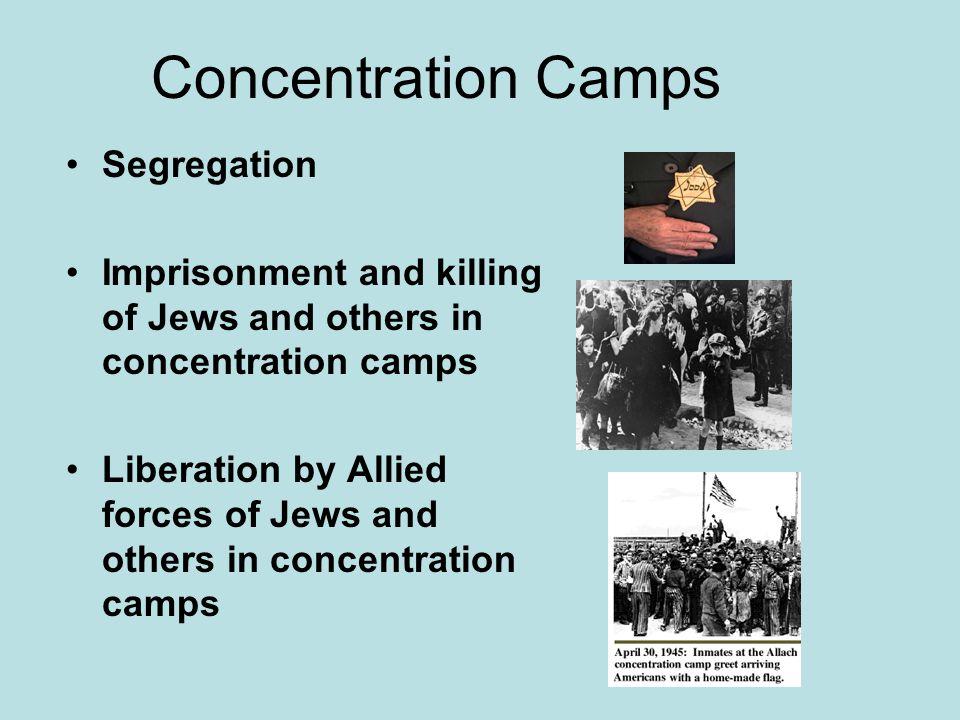 Concentration Camps Segregation