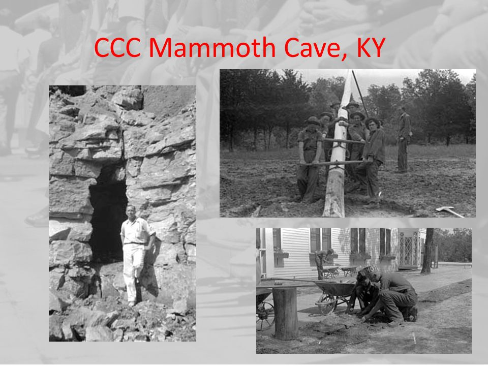 CCC Mammoth Cave, KY