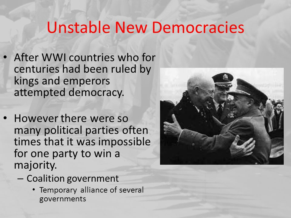 Unstable New Democracies