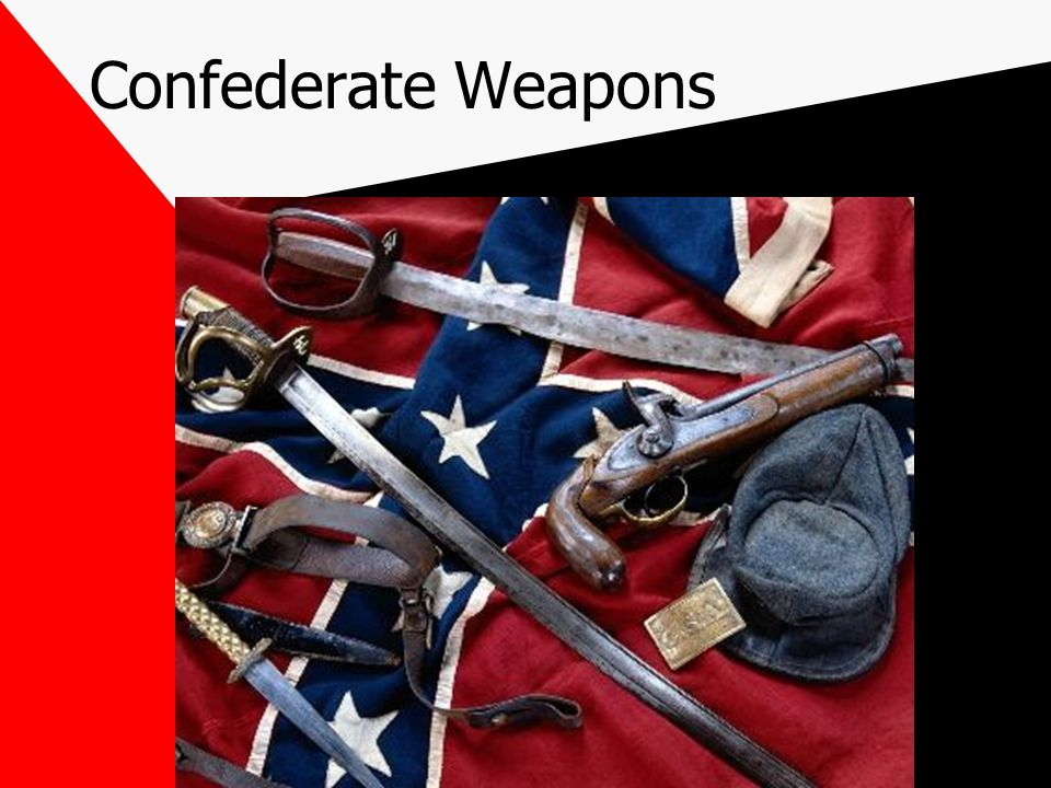 Confederate Weapons