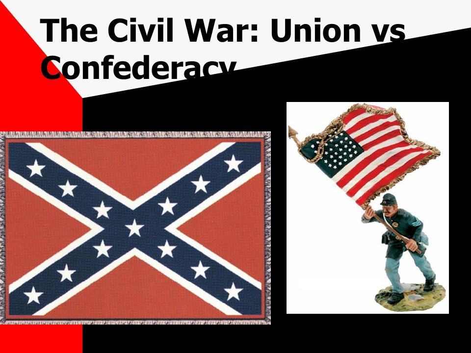 The Civil War: Union vs Confederacy