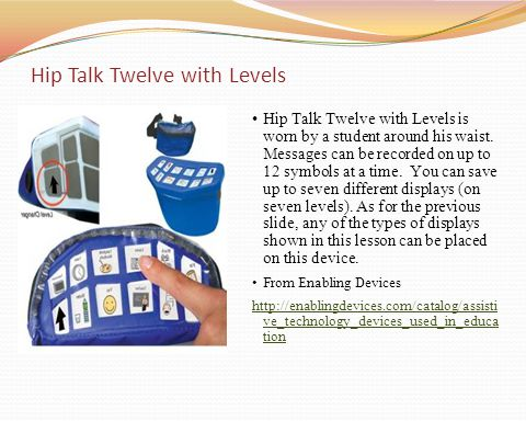 Hip Talk Twelve with Levels