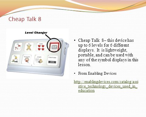 Cheap Talk 8