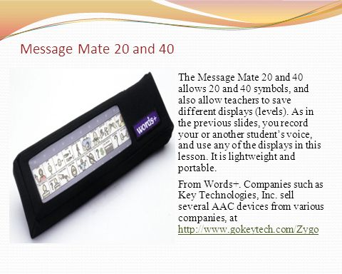 Message Mate 20 and 40