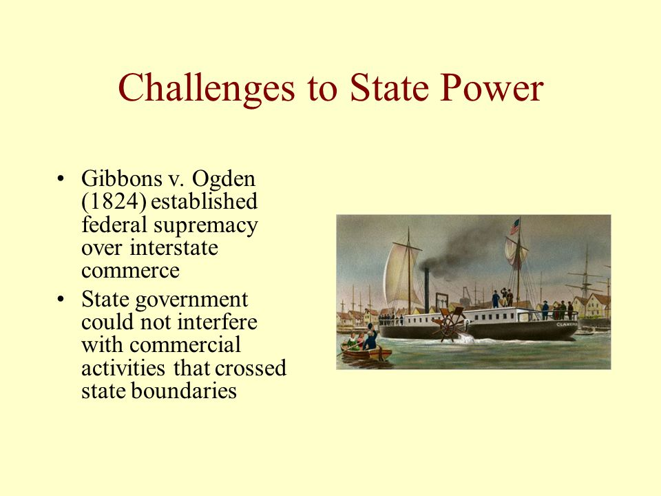 Challenges to State Power