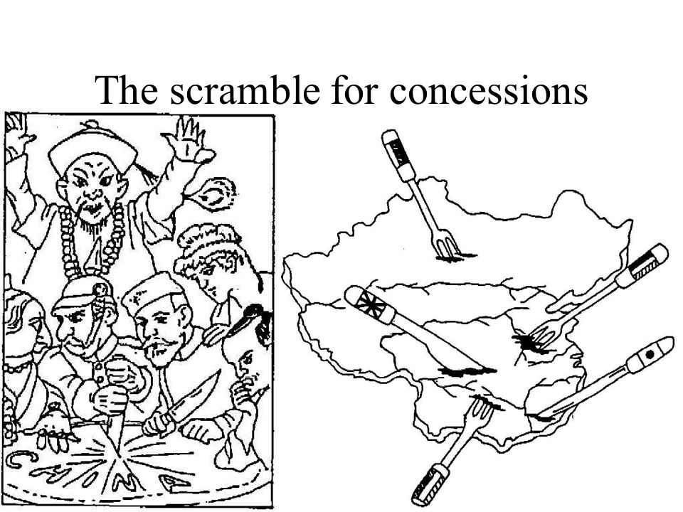 The scramble for concessions