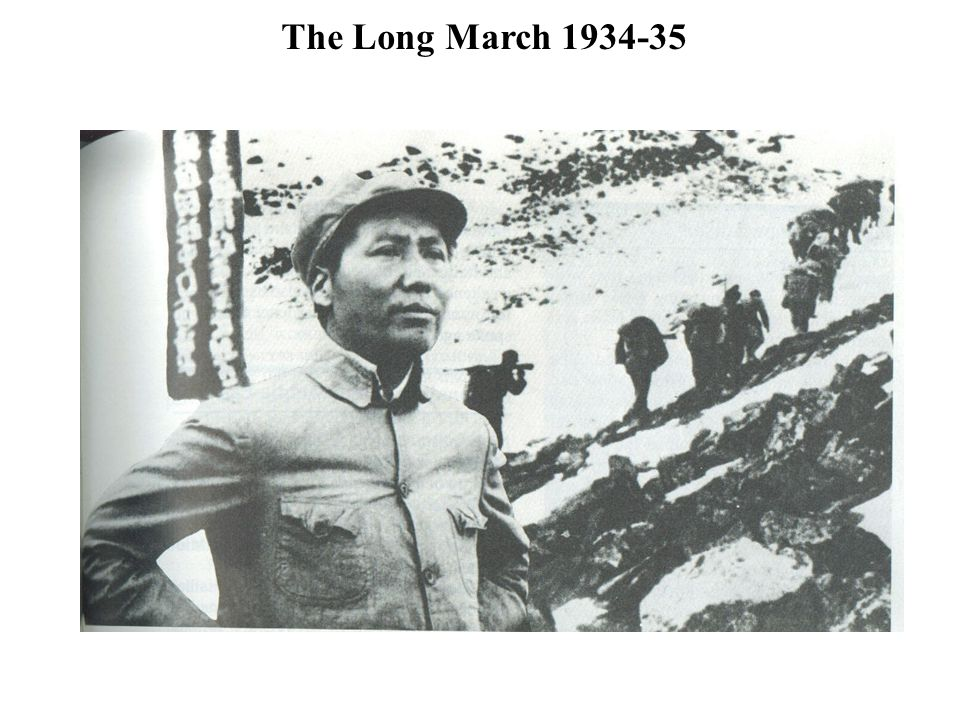 The Long March 1934-35