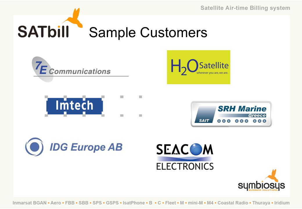 SATbill Training Sample Customers