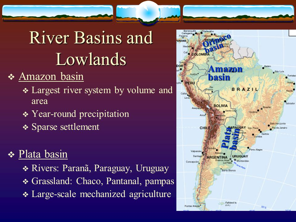 River Basins and Lowlands
