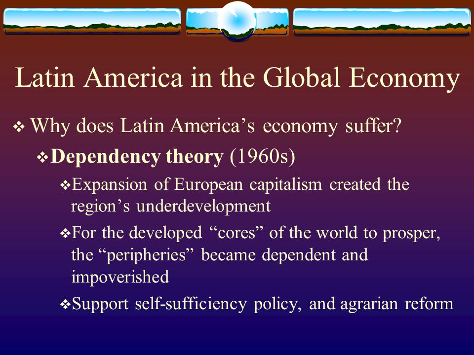 Latin America in the Global Economy