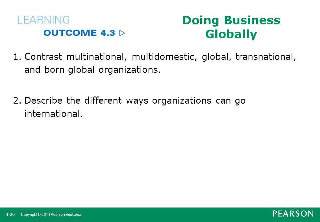 Doing Business Globally