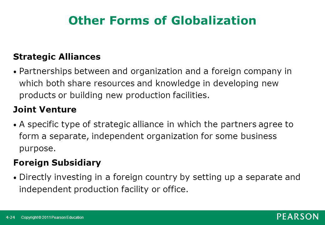 Other Forms of Globalization