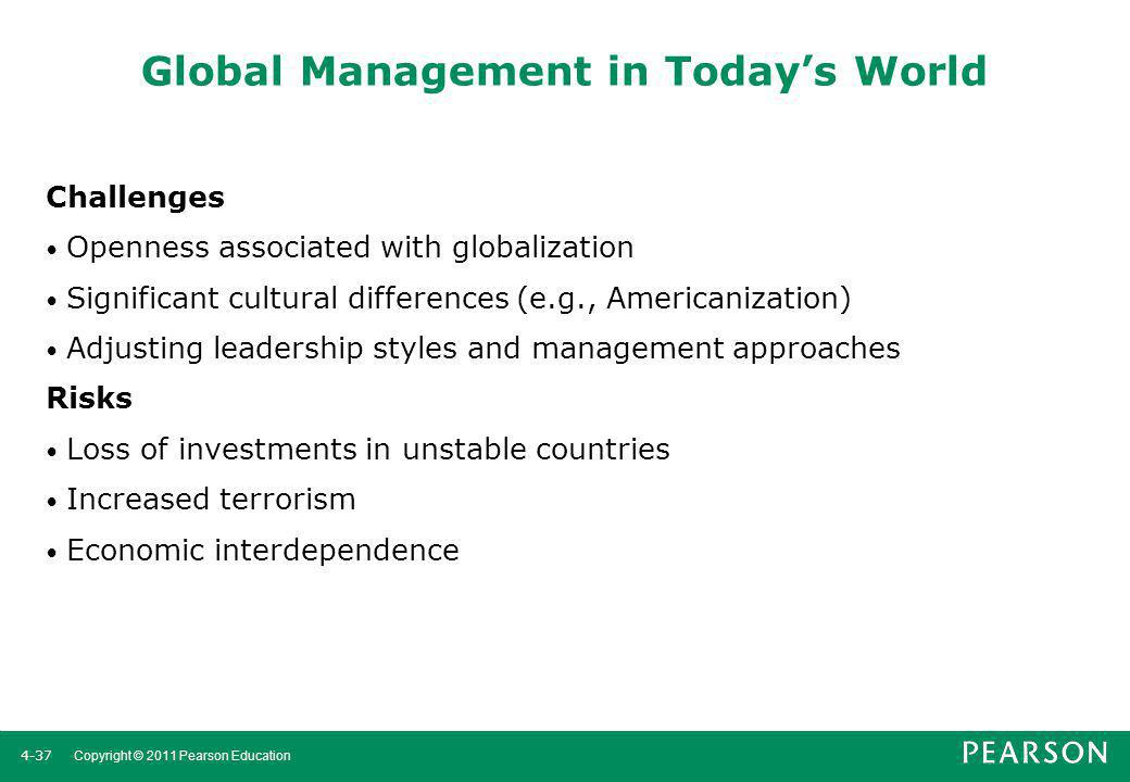 Global Management in Today's World