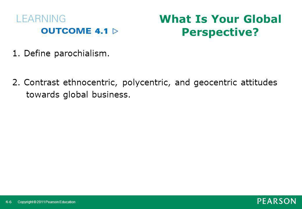 What Is Your Global Perspective
