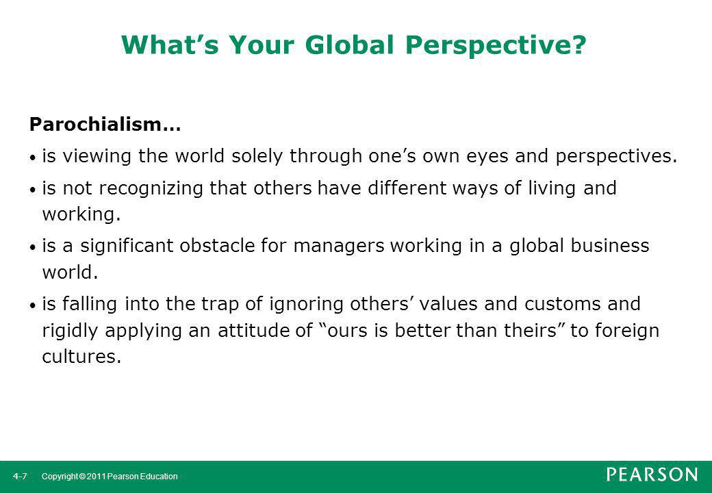 What's Your Global Perspective