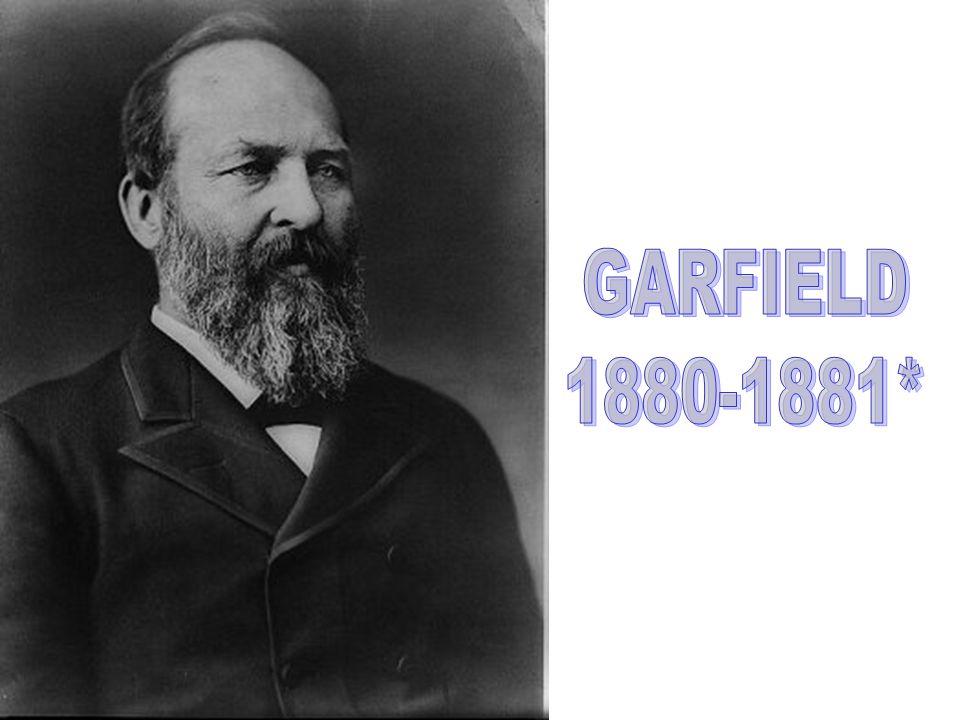GARFIELD 1880-1881*