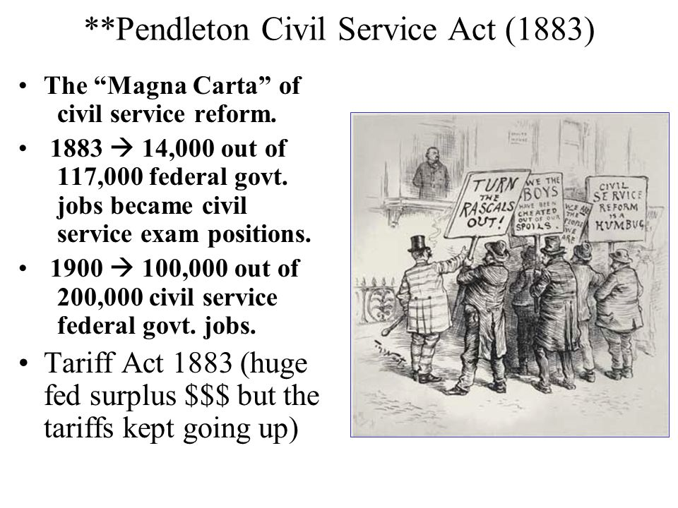 **Pendleton Civil Service Act (1883)