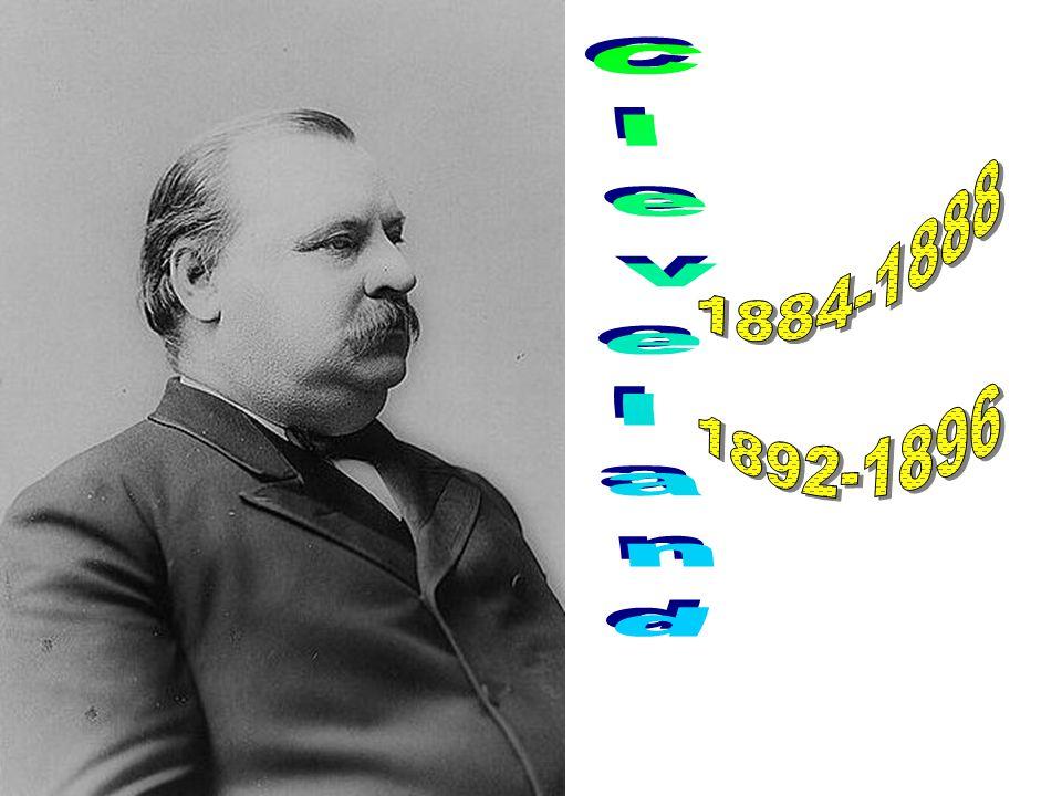 1884-1888 1892-1896 Cleveland