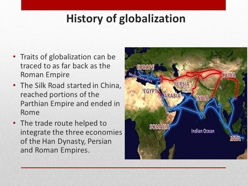 History of globalization