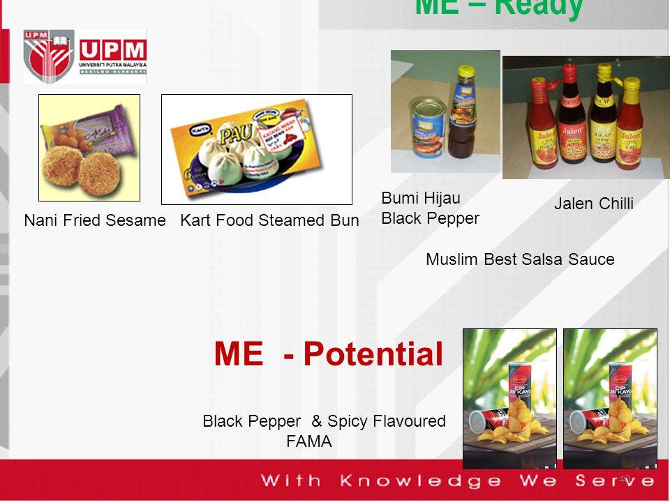 ME – Ready ME - Potential Bumi Hijau Black Pepper Jalen Chilli