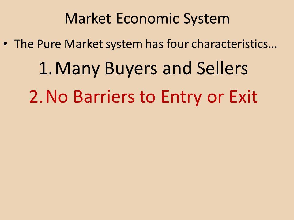 Market Economic System