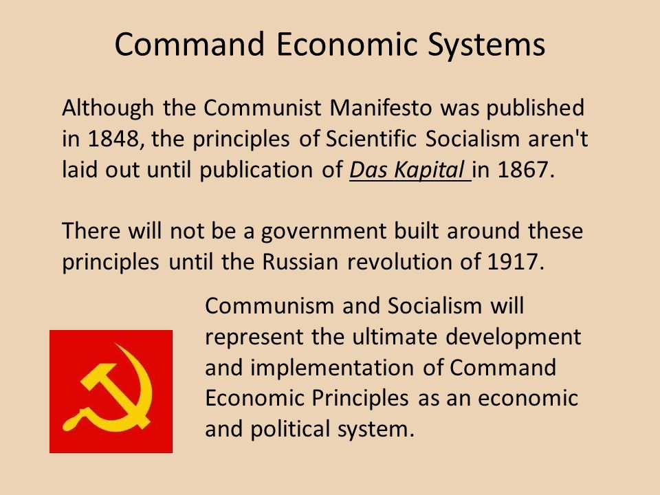 Command Economic Systems
