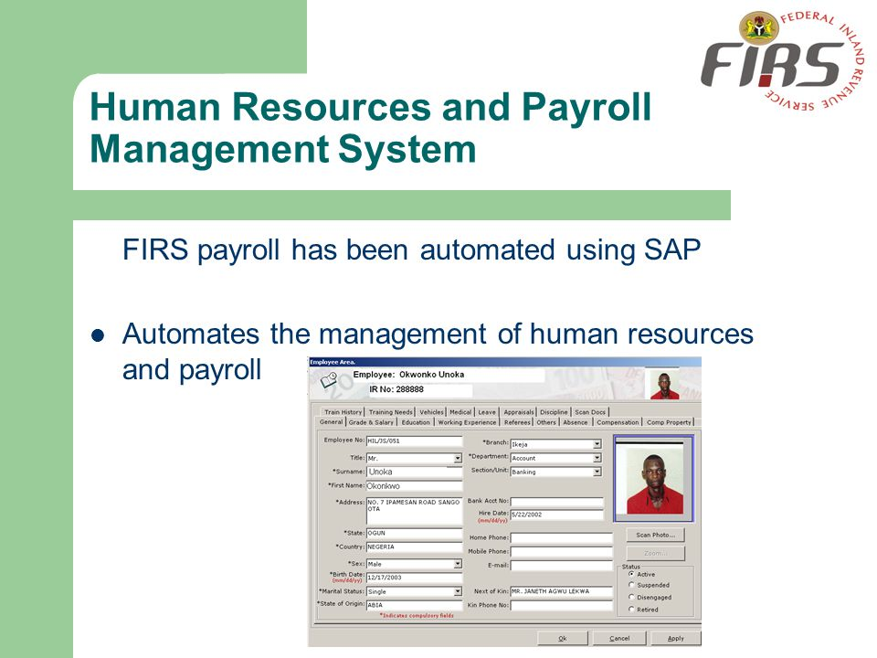 Human Resources and Payroll Management System