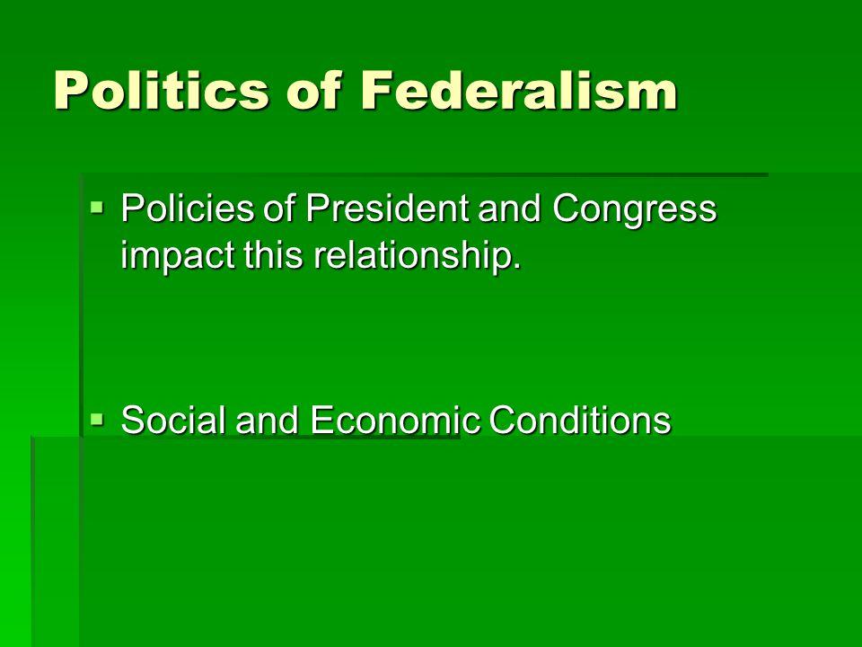 Politics of Federalism