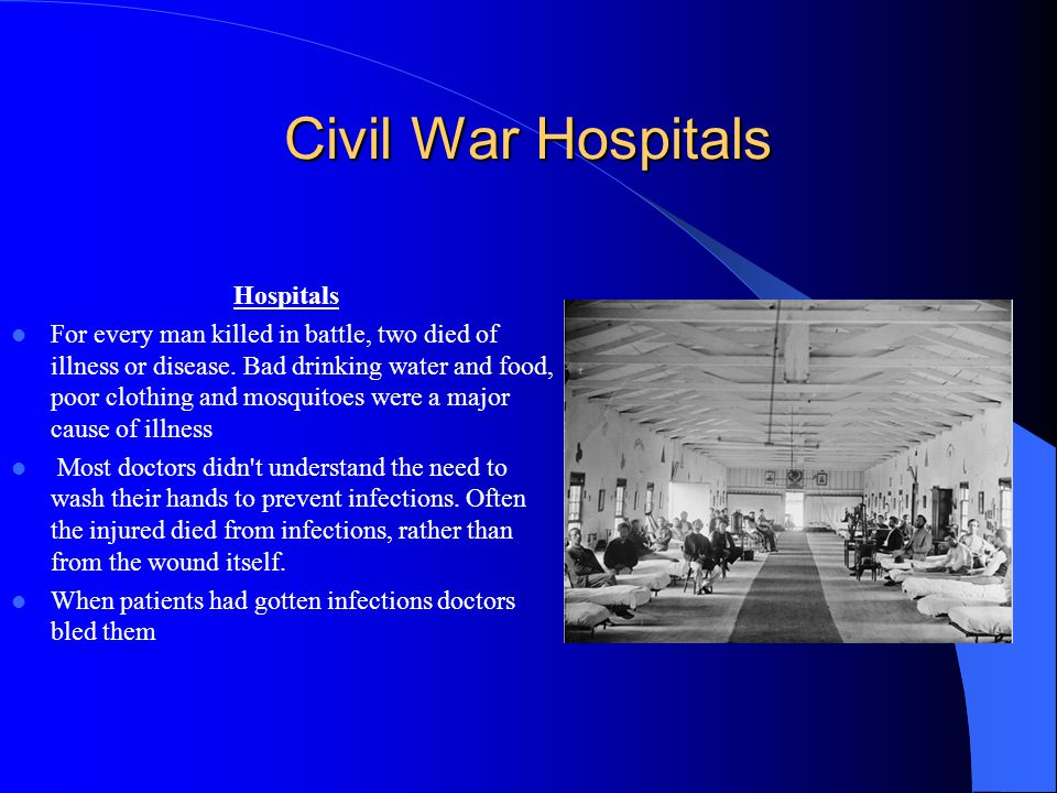 Civil War Hospitals Hospitals