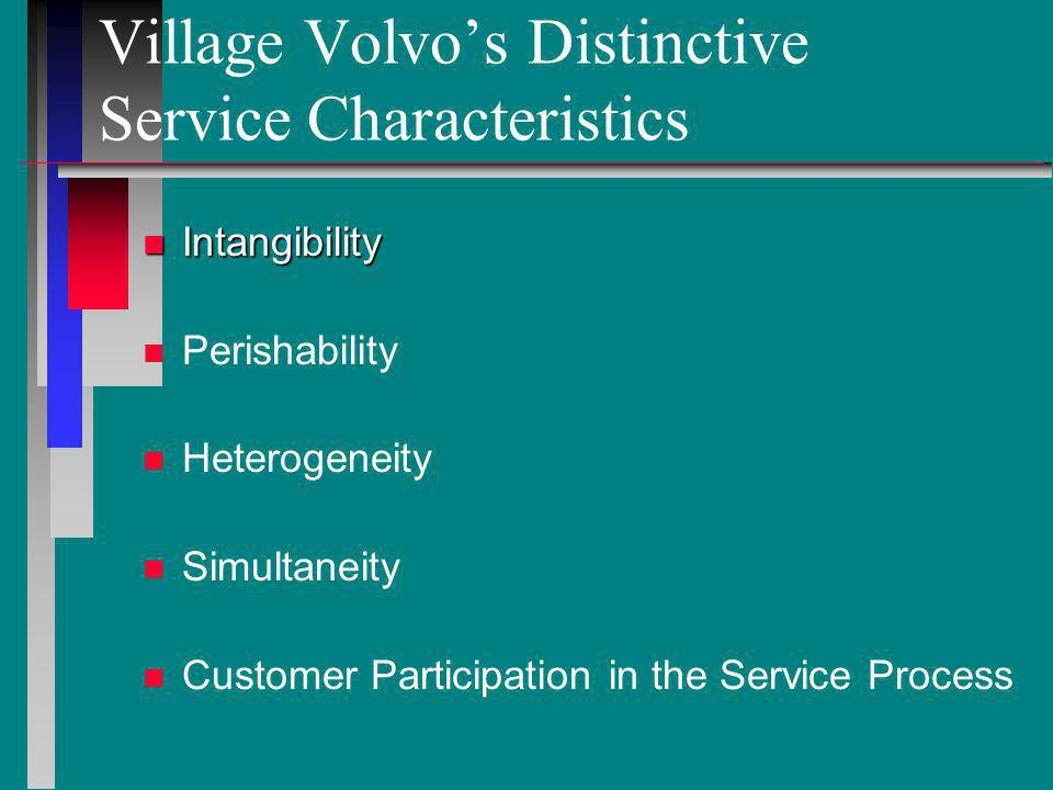 how can village volvo differentiate itself from volvo dealers essay Village volvo is a repair shop catering to out-of-warranty volvos the supporting facilities include a butler building the supporting facilities include a butler building this building is a prefabricated metal structure that has four work bays.