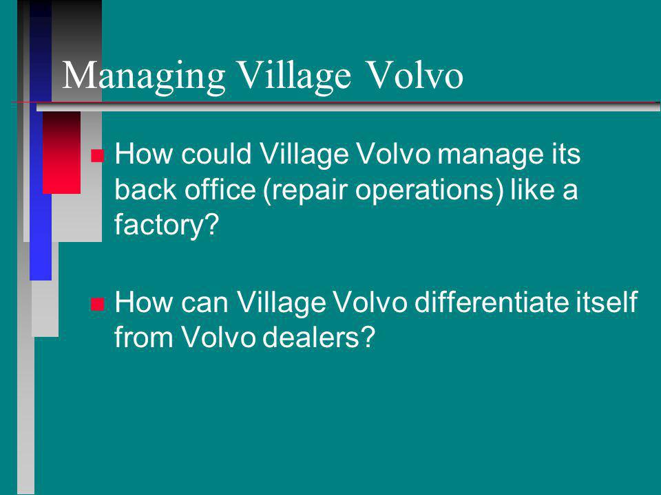 village volvo service Volvo cars cincinnati east - serving dayton, oh, covington, oh, and cincinnati's east side at volvo cars cincinnati east, we not only offer a superb selection of new and used volvo models, but topnotch customer serviceour expert staff is ready to help you make truly informed decisions about everything from cars to service, service to parts.