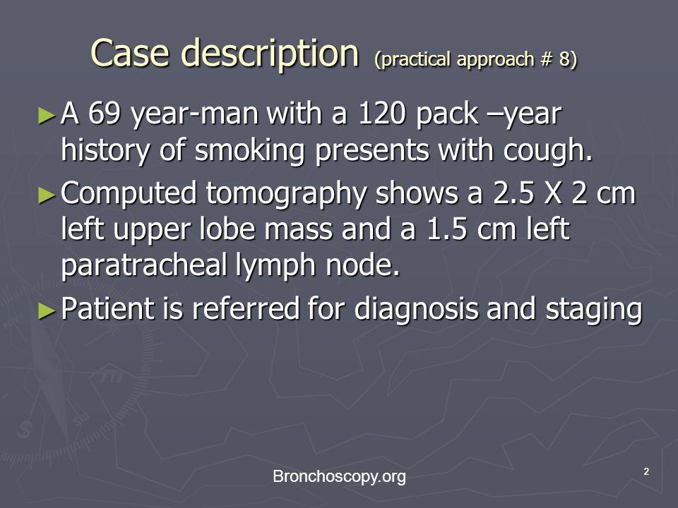 Case description (practical approach # 8)