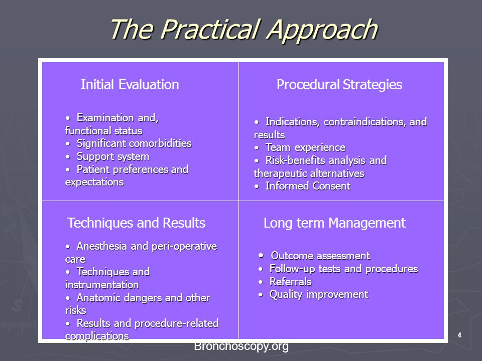 The Practical Approach
