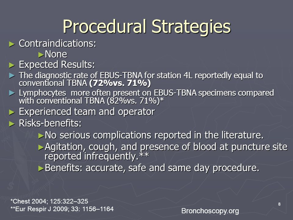 Procedural Strategies