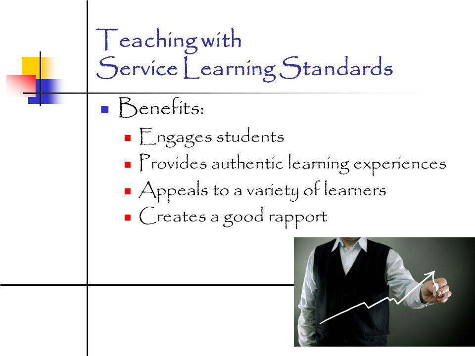 Teaching with Service Learning Standards