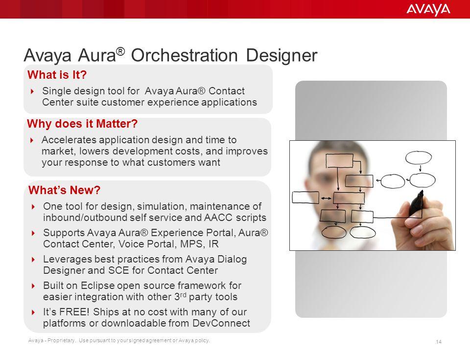 Avaya Aura® Orchestration Designer