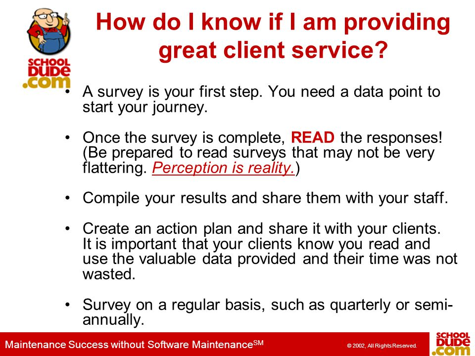 How do I know if I am providing great client service