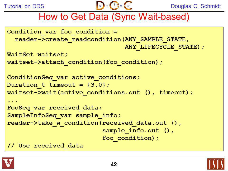 How to Get Data (Sync Wait-based)