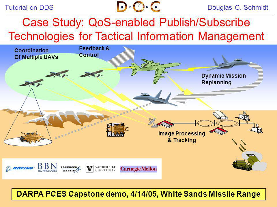 DARPA PCES Capstone demo, 4/14/05, White Sands Missile Range