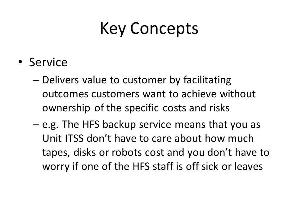 Key Concepts Service.