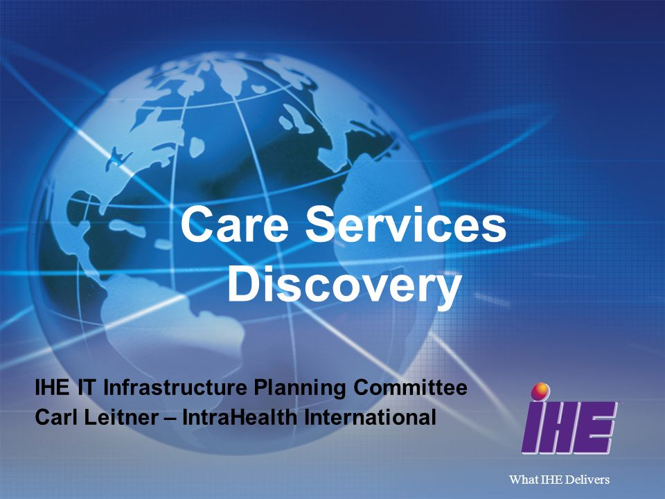 Care Services Discovery